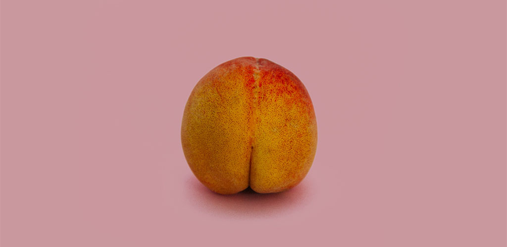 Good looking peach