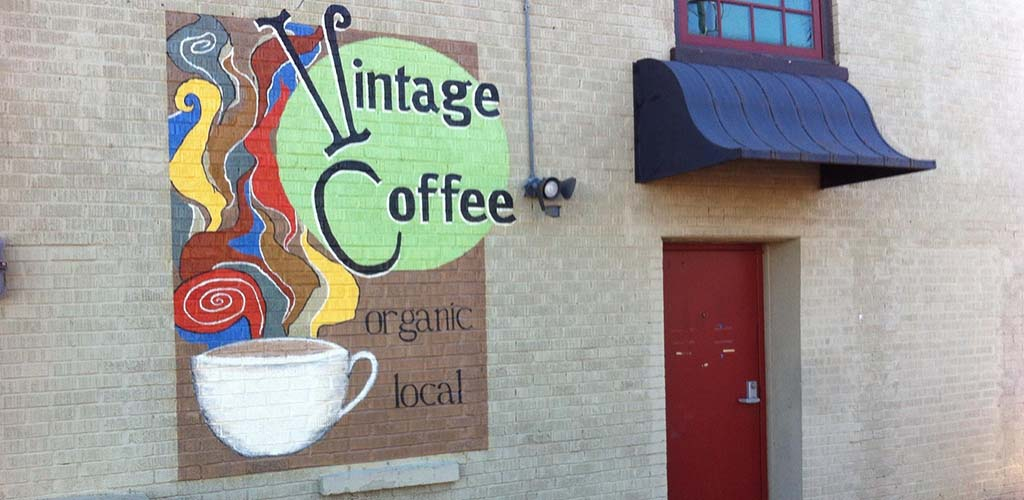 Vintage Coffee is great for meeting single women seeking men in Oklahoma City