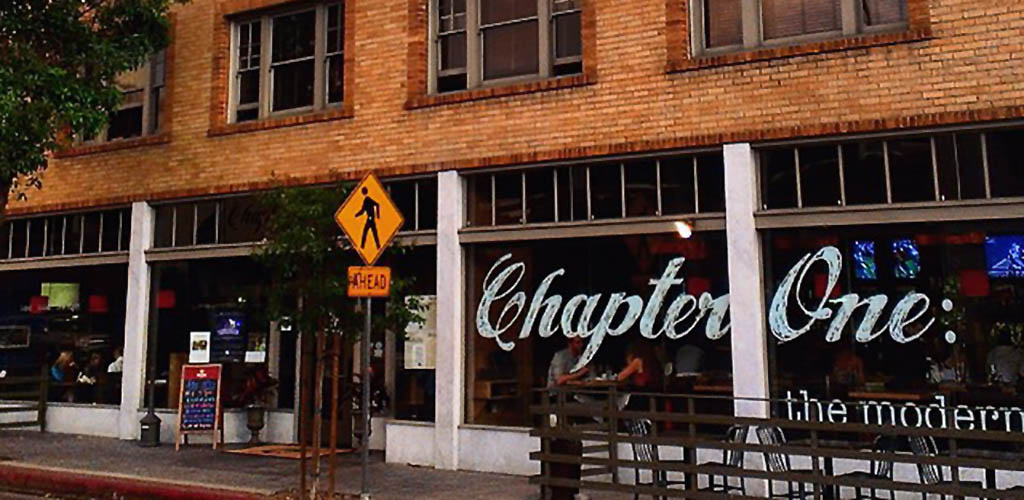 The brick facade of Chapter One: The Modern Local
