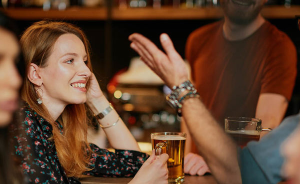 Single women seeking men in Liverpool usually go to pubs and bars