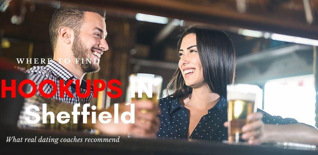 A Sheffield couple hooking up and drinking beer at a bar
