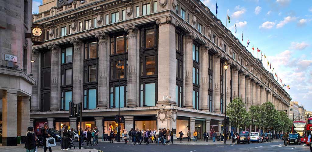 Oxford Street is Europe's busiest shopping street full of London's single women