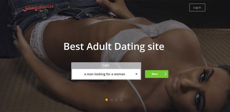 Shagaholic Landing Page