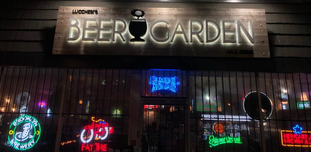 Lucchesi's Beer Garden is where single women seeking men in Memphis hang out
