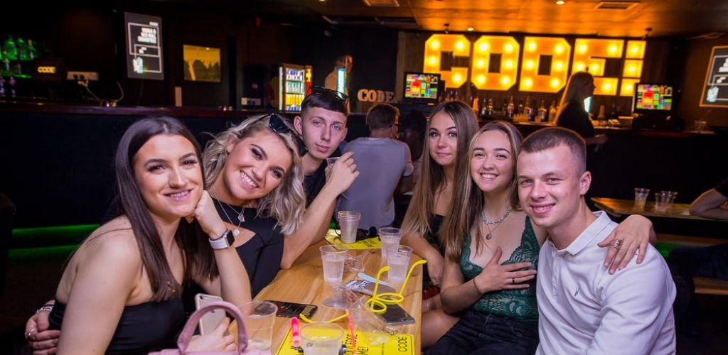 Young Sheffield singles drinking and hooking up at Code