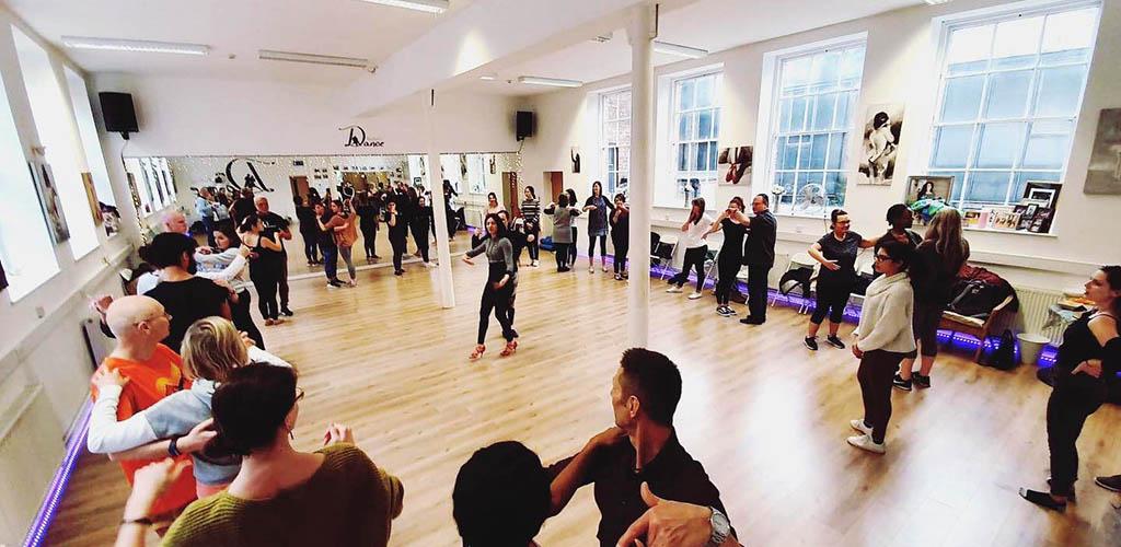 Dance Base is one of Scotland's most popular venues for meeting Edinburgh single women