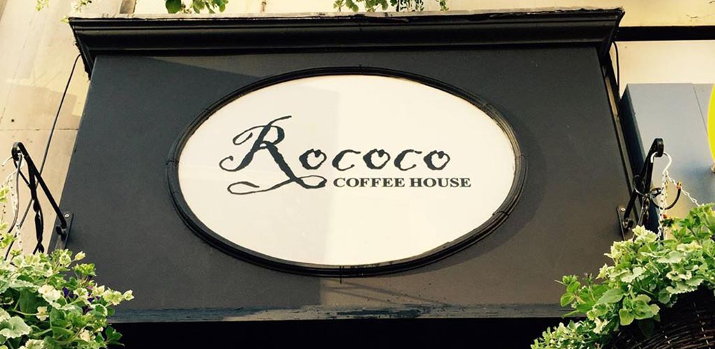 Rococo Coffee House is a great spot for a date or for meeting single women in Liverpool