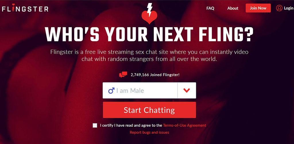 Flingster Landing Page