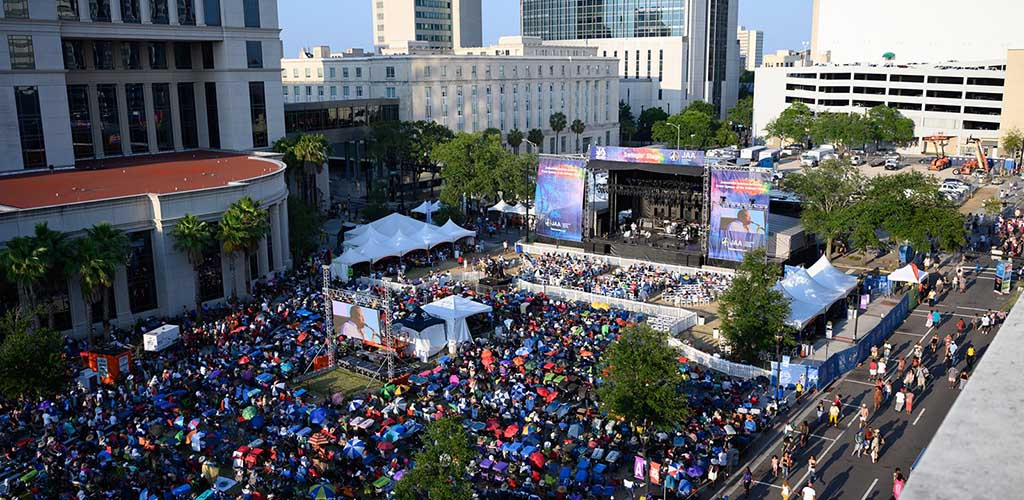 Jacksonville Jazz Festival at its height