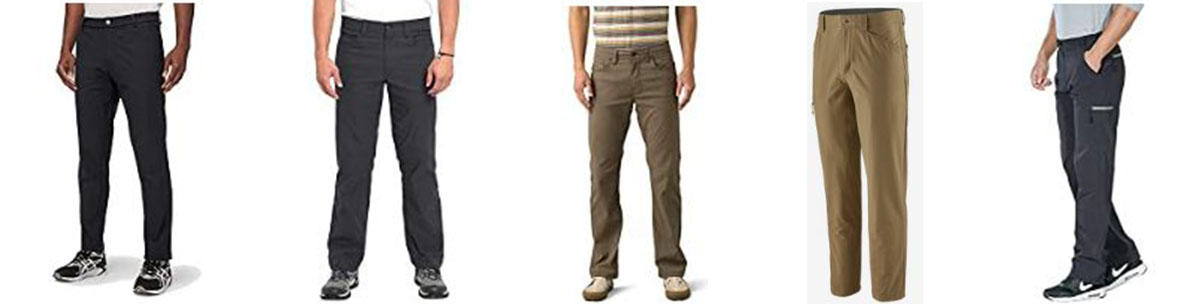 The men's lightweight pants worth trying