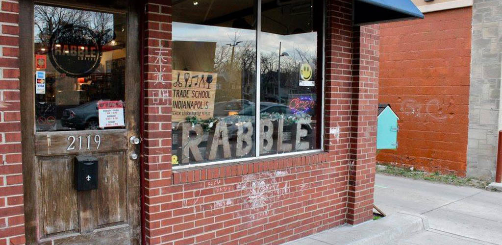 Rabble Coffee is a friendly spot to grab an espresso and hang out with single women seeking men in Indianapolis