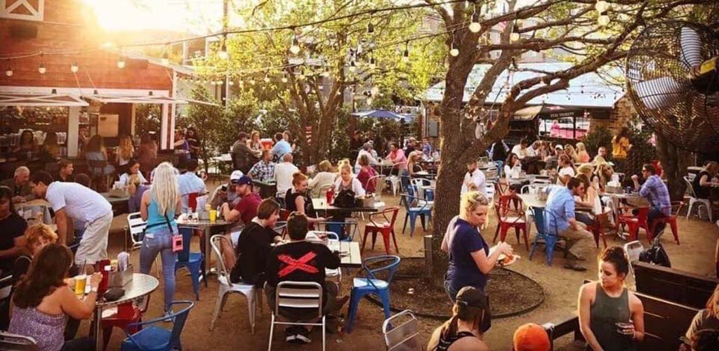 America Gardens brings day drinking to the great outdoors with single women in Fort Worth