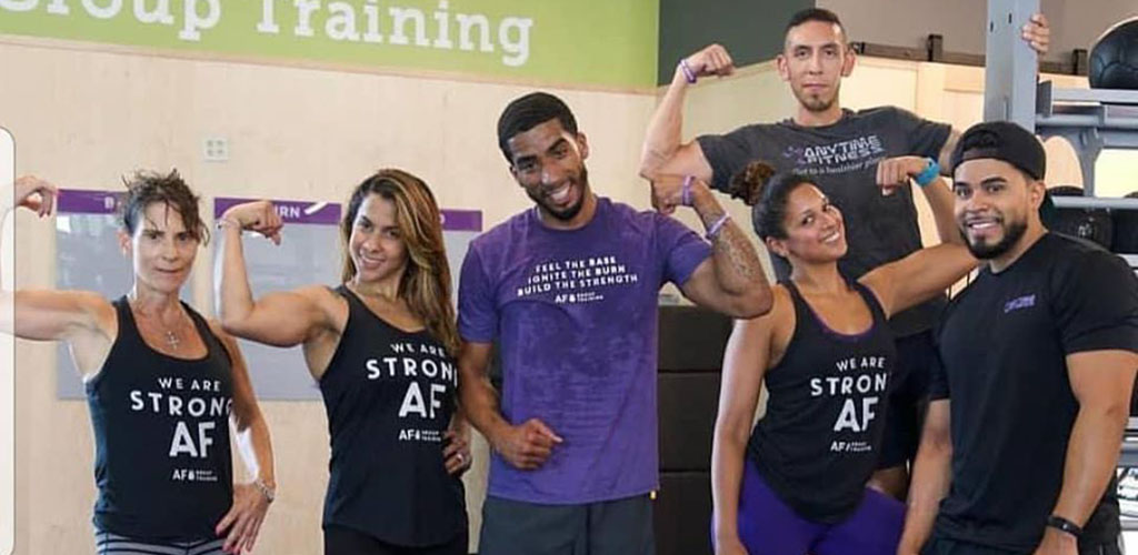 Build your bod and meet Montreal single women at Anytime Fitness