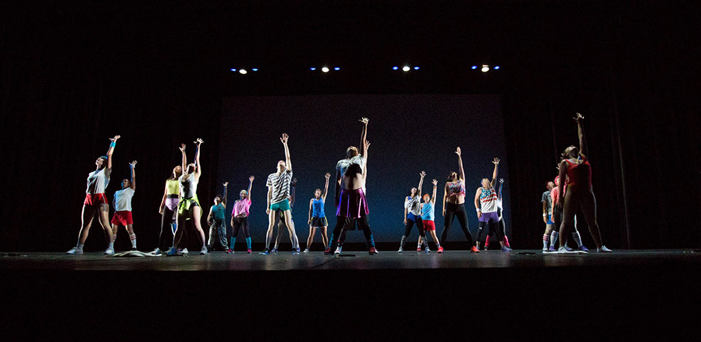 Performers onstage at City Dance Studio