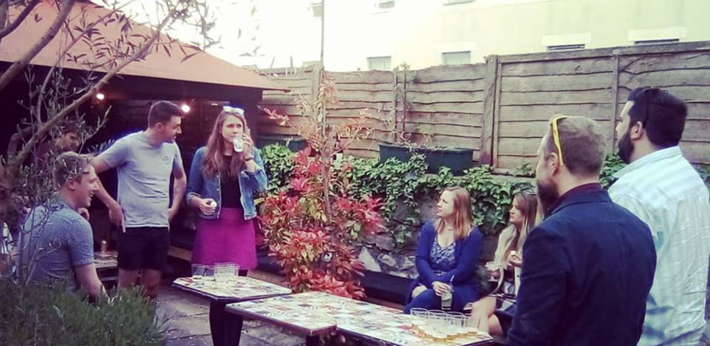 Flipside Cocktail Club is another high-end bar that's beloved by single women in Bristol