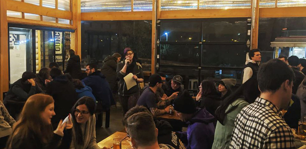 Ounces Taproom and Beer Garden is a trendy place that attracts intriguing single women in Seattle