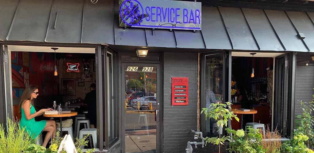 Service Bar DC is a fantastic place to meet single women in Washington DC