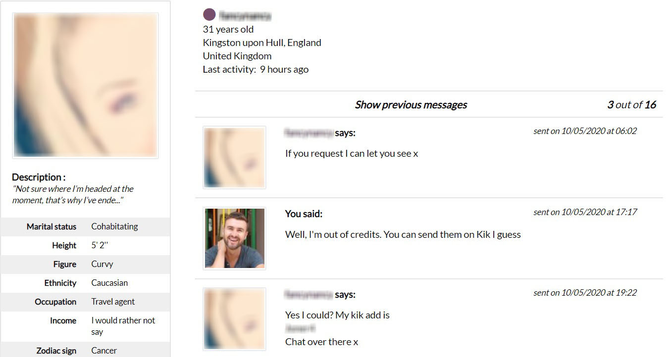 Gleeden Exchange Contact Info