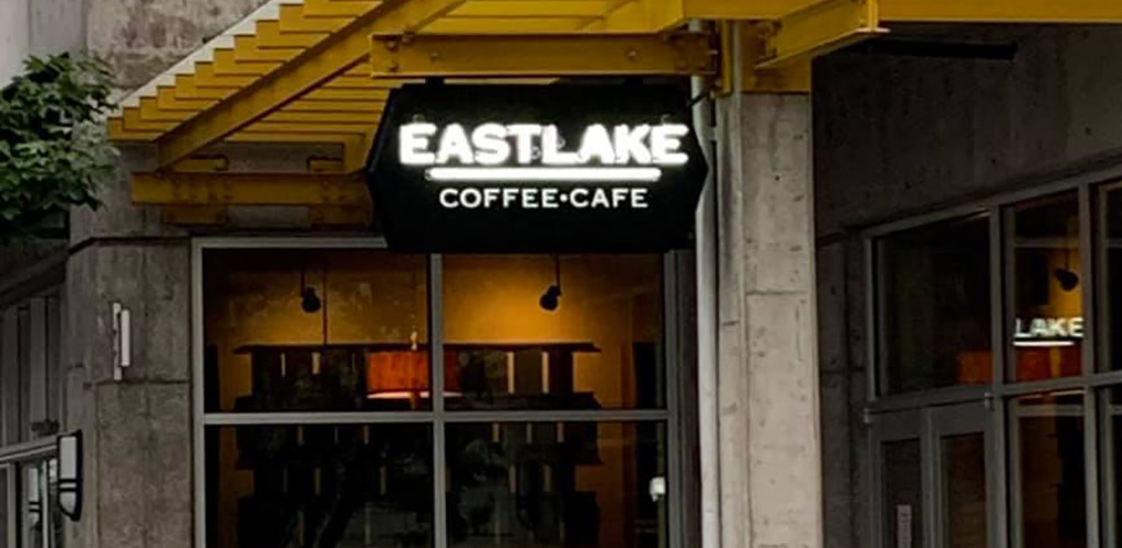 Eastlake Coffee signage