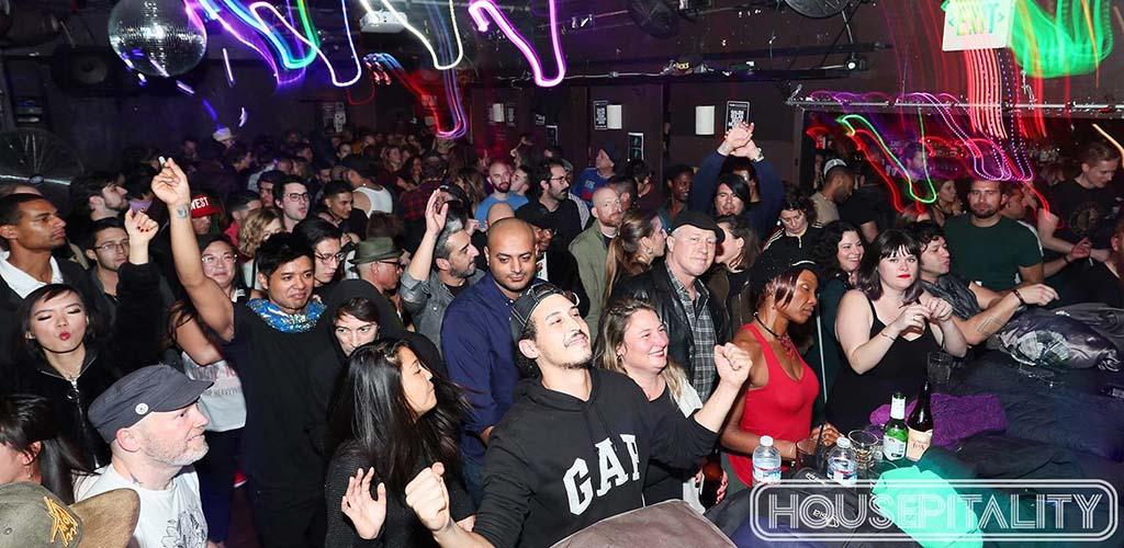 F8 Nightclub crowd during a performance