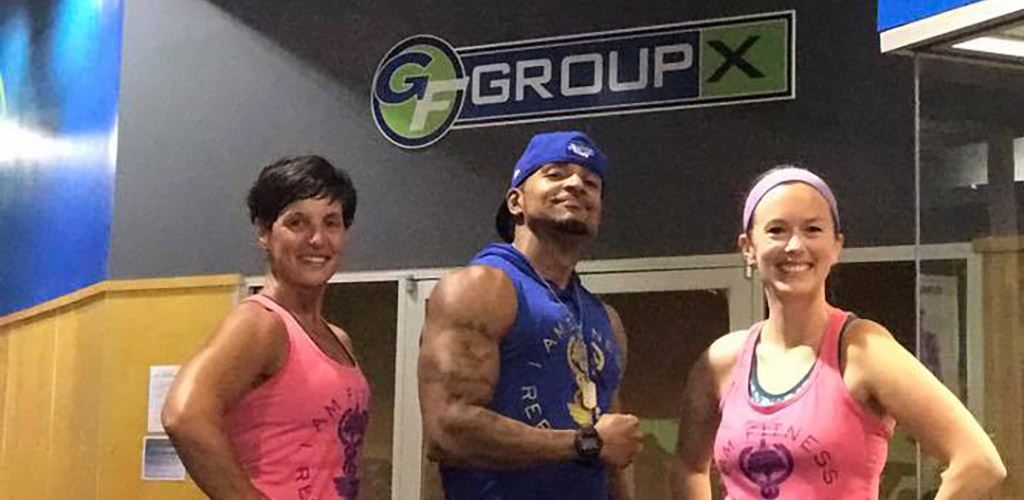 Fitness instructors at the Get Fit Athletic Club
