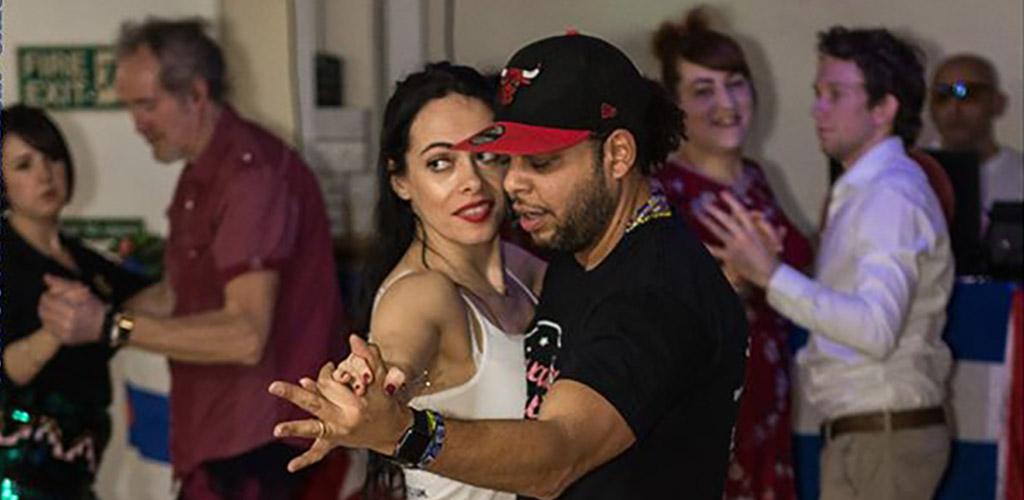 Men and women partnered up to dance at Havana Salsa