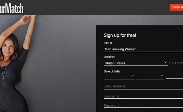 AmateurMatch Landing Page