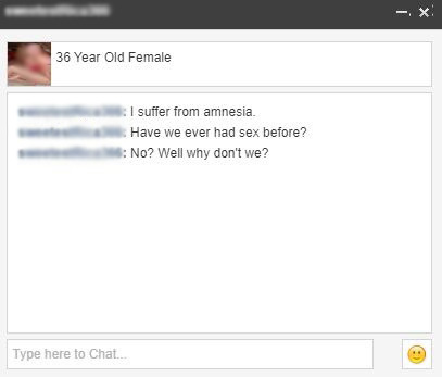 Chat requests from our localmilf.com review