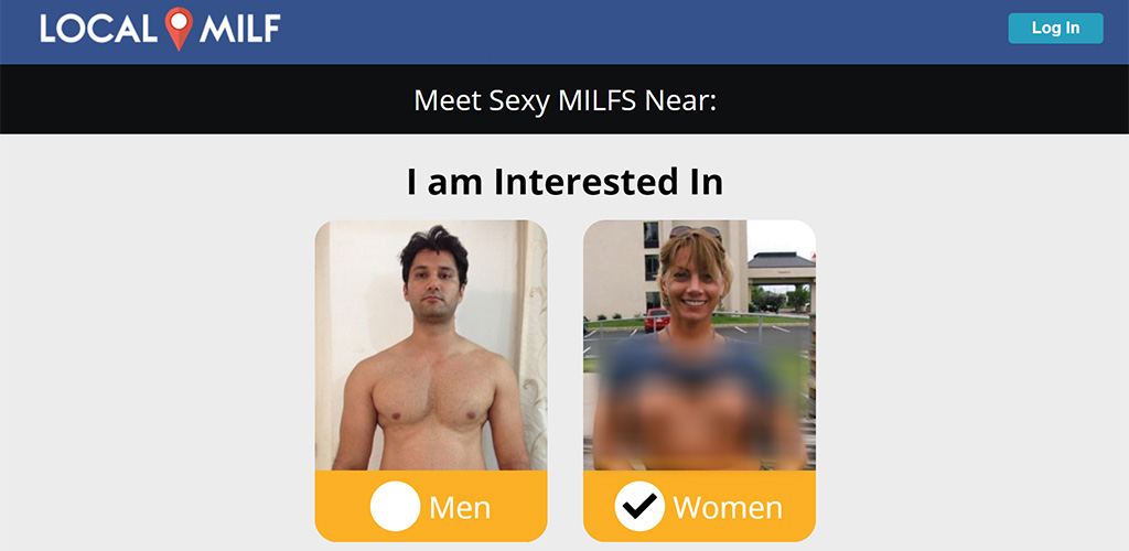 LocalMILF homepage Page