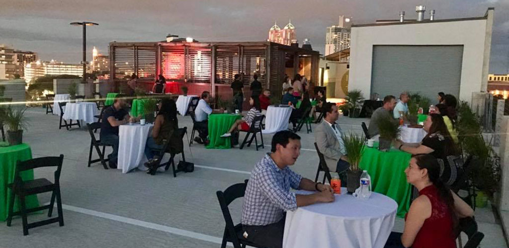 A Modern Mingle outdoor speed dating event