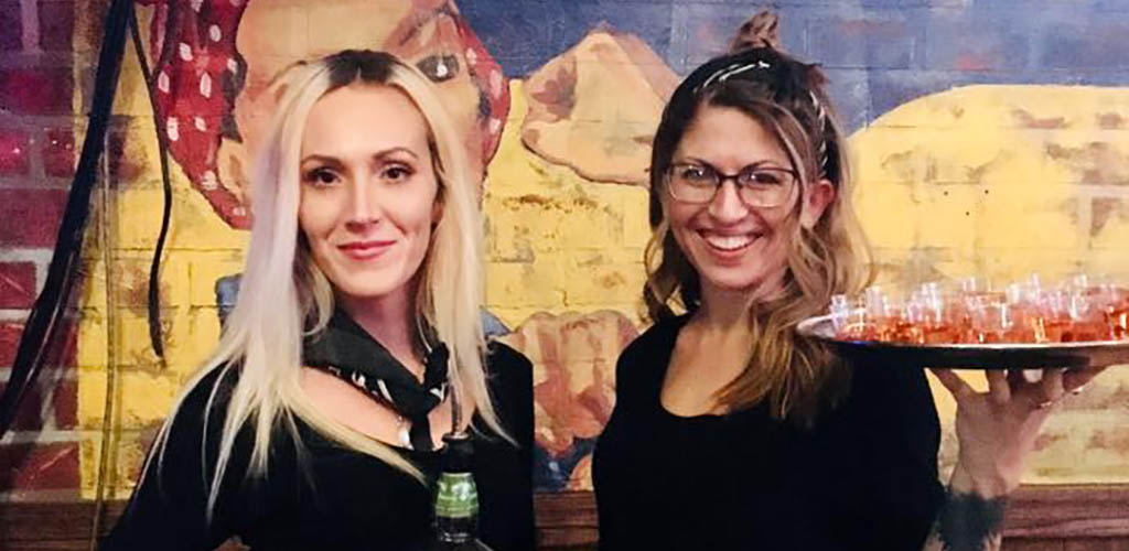 Pretty ladies at The Mansion Nightclub