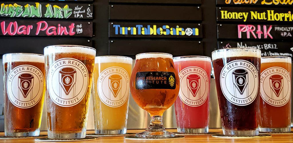 Different brews from The Beer Research Institute