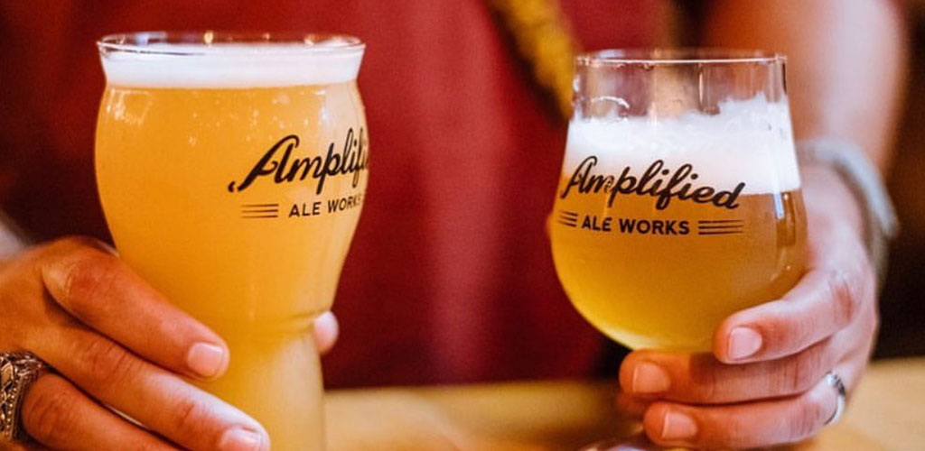 Beers from Amplified Ale Works