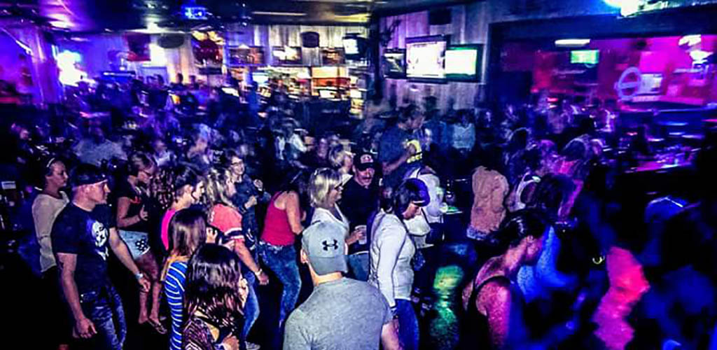 The dance floor of Cappy's Hotspot Bar and Grill