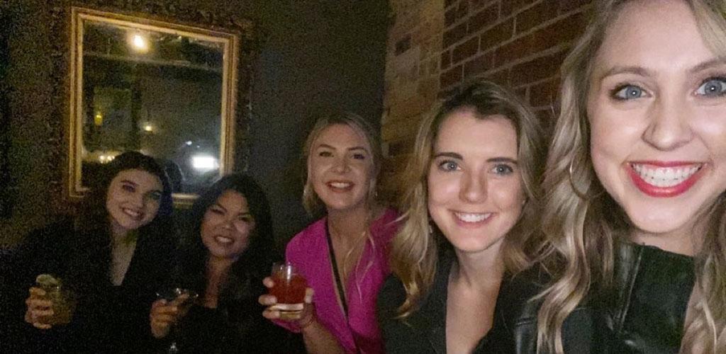 Pretty Wichita girls on a night out at Dockum