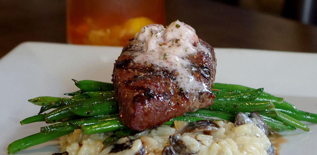Steak from JTK Restaurant