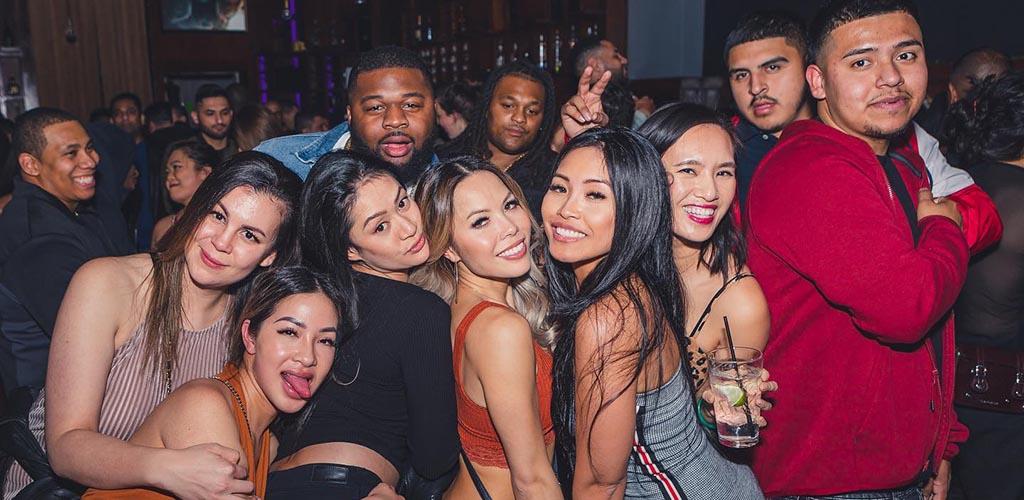 Beautiful girls partying at LVL44