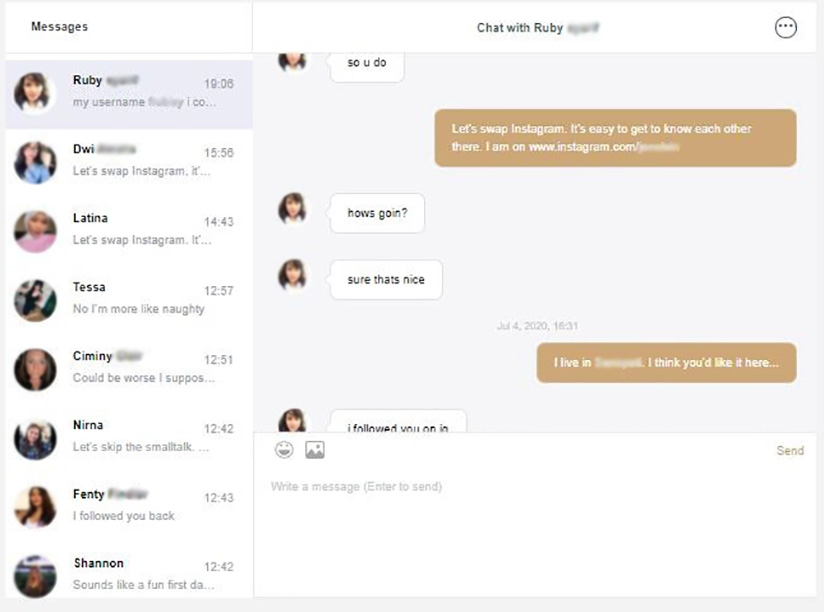Chat session 2