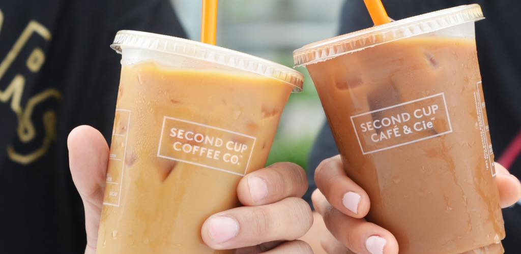 Drinks from Second Cup Cafe