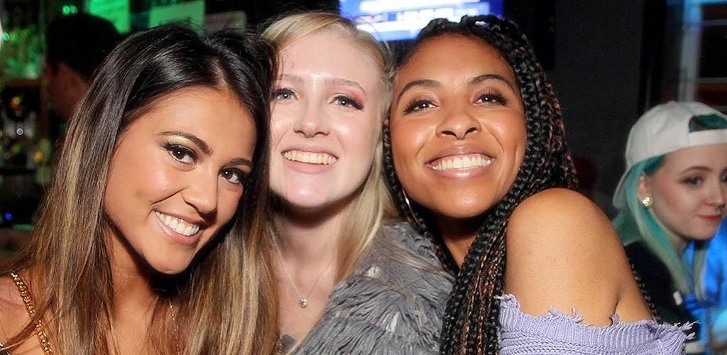 Lexington Fayette girls enjoying an evening at Soundbar