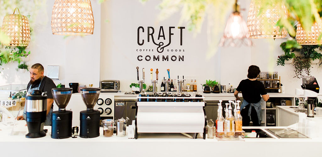 The bright interiors of Craft and Common