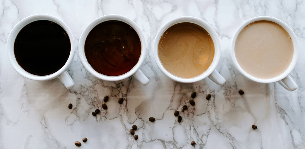 Various coffee blends from High Grounds Coffee Shoppe