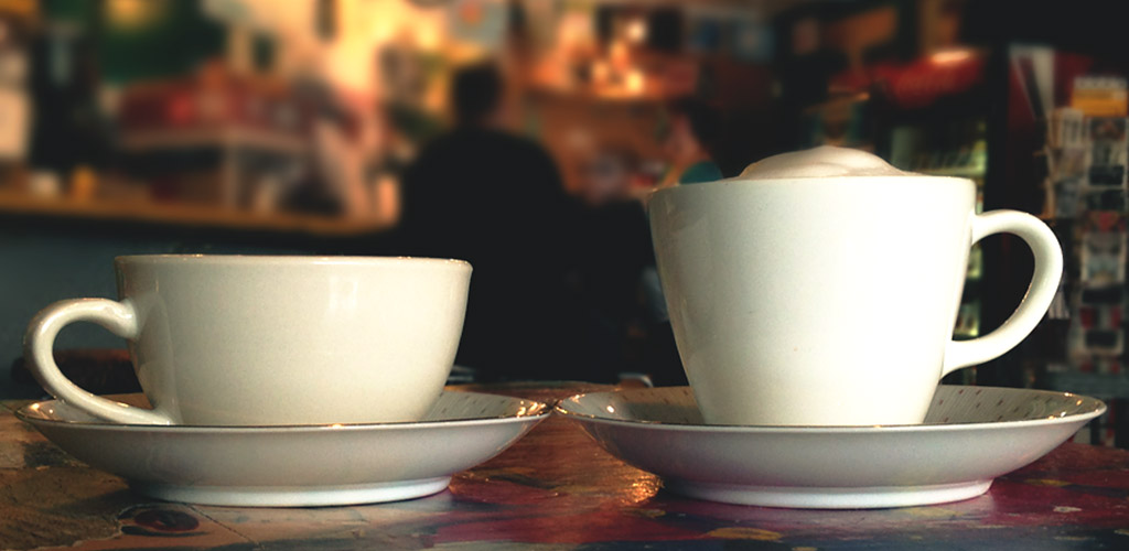 Cups of coffee from Otherlands Coffee Bar