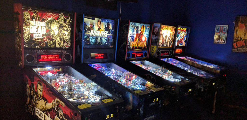 Arcades at The Grid: Games and Growlers