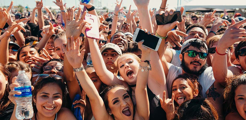 The young crowd at JMBLYA