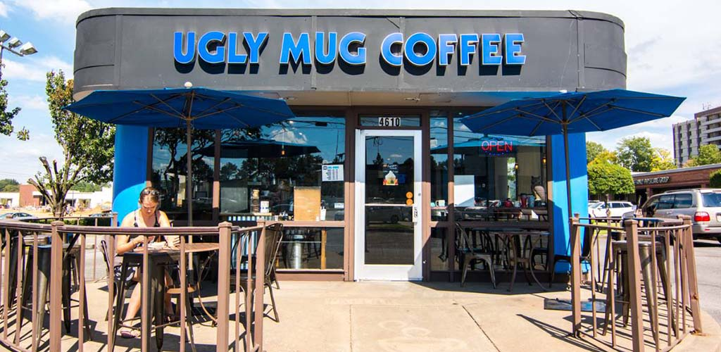 The cozy Ugly Mug Coffee