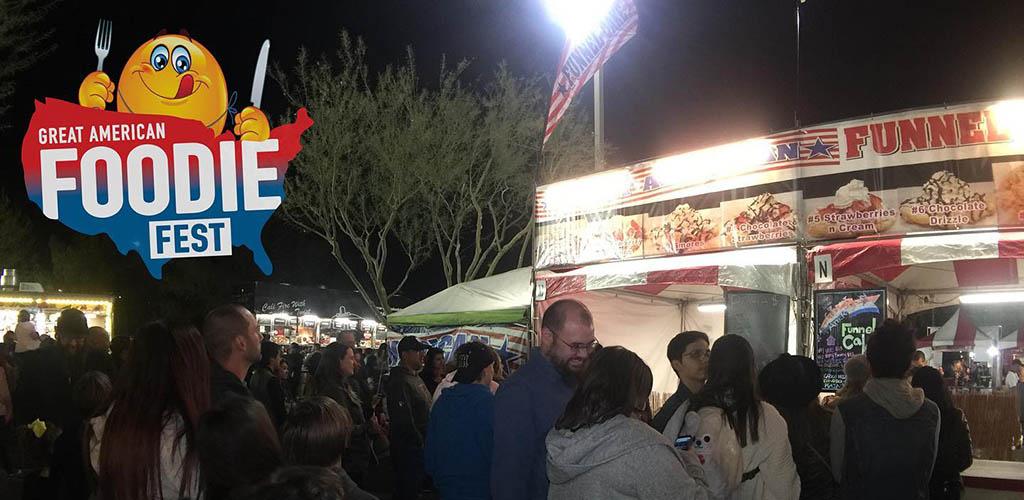 Foodies at the Great American Foodie fest
