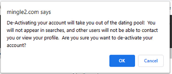 How to delete your profile