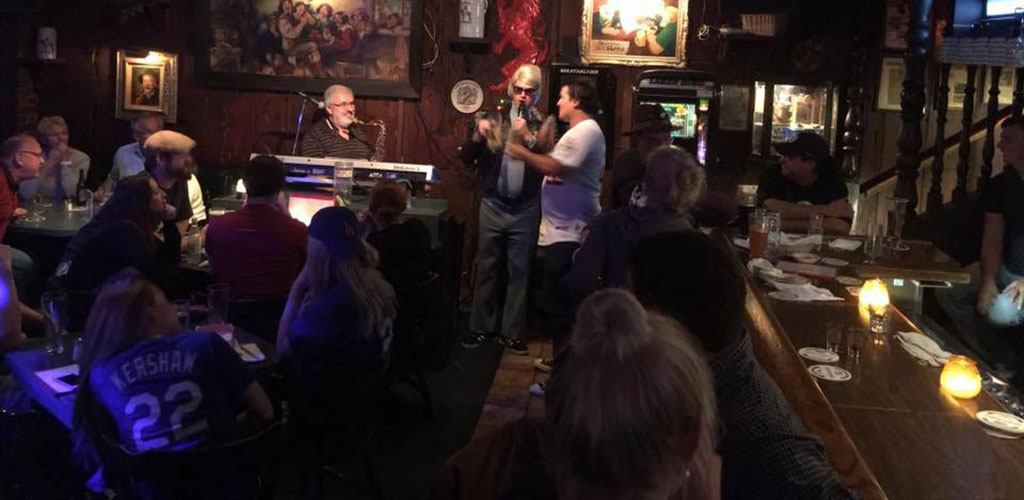 Open mic night at The Red Lion Tavern