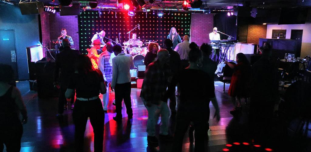 The dance floor of The Kasbah